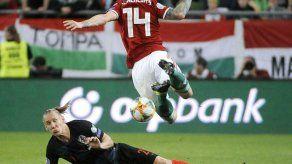Croacia cae ante Hungría en eliminatoria hacia la Euro