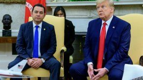 Trump recibe a Jimmy Morales tras acuerdo migratorio entre EEUU y Guatemala