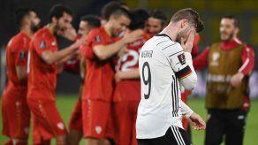 Histórico: Alemania pierde 2-1 en casa ante Macedonia del Norte en clasificatorio al Mundial