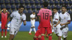 México remonta y vence 3-2 a Corea del Sur