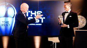 El polaco Lewandowski gana el premio FIFA The Best a mejor jugador
