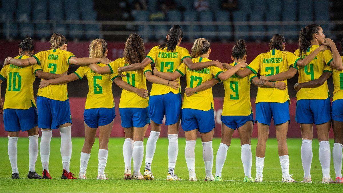 Brasil no logró avanzar de ronda en el fútbol femenino de Tokio 2020
