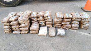 Decomisan 70 paquetes de droga y detienen a una persona en Veraguas