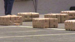 Senan decomisa 500 paquetes de cocaína envueltos en cilindros