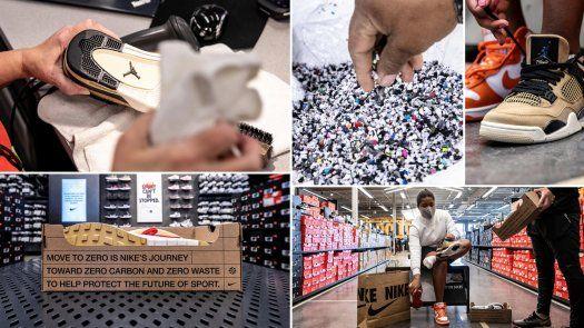 Nike dijo que cada calzado será desinfectado a mano.