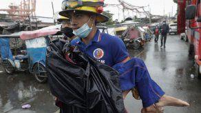 Un millón de desplazados por un supertifón en Filipinas