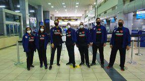 Delegación de esgrima de Panamá, viajó a Costa Rica para el torneo clasificatorio a Tokio.