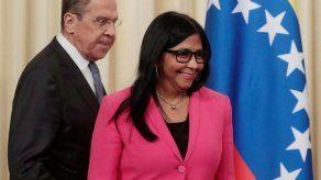 Delcy Rodríguez anuncia traslado a Moscú de oficina de compañía metalúrgica
