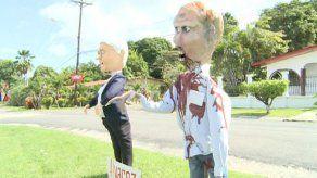 En Chame presentaron los tradicionales muñecos de Año Viejo