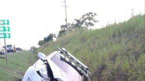 Un herido tras accidente de tránsito en autopista Arraiján-La Chorrera