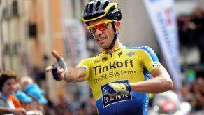 Contador gana la primera etapa de la Vuelta al País Vasco y es líder
