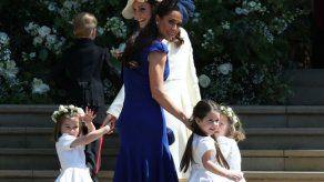 ¿Qué fue lo que molestó a Catalina del atuendo de las niñas de las flores en la boda de Meghan?