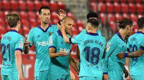 El Barcelona golea 4-0 al Mallorca en su regreso tras tres meses de parón