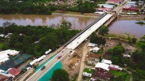 Construcción del Puente Binacional Sixaola presenta un 94% de ejecución