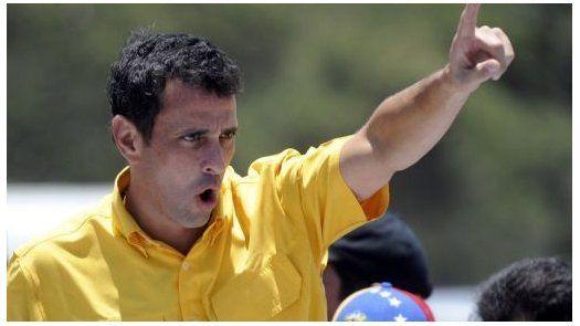 Capriles denuncia intento de golpe de Estado en su contra
