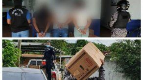 Aprehenden a tres personas en Tocumen acusadas de estafa por compras con cheques sin fondos