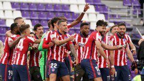 Atlético de Madrid se proclama campeón de LaLiga