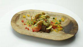 Ensalada de quinoa con zanahorias y pimentones y Bizcocho de chocolate - Carlos Lucas