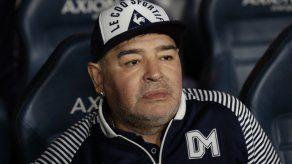 El futbolista argentino Diego Maradona.