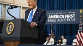 Trump promueve visión de sistema de salud