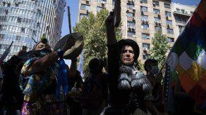 Latinomericanas protestan contra la violencia de género