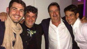 Iker Casillas presume de amistad con Alejandro Sanz