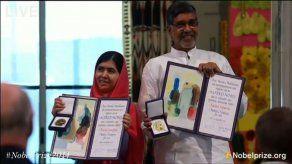 Malala y Satyarthi reciben el Nobel de la Paz