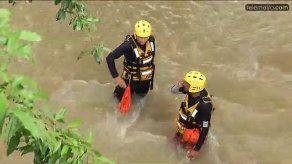 Continúa búsqueda de menor desaparecido en río Sucre