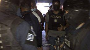 Once detenidos por delito de extorsión en allanamientos en Calidonia y Curundú