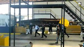 Diputado del Parlacen Carlos Outten fue detenido en medio de una protesta en Colón