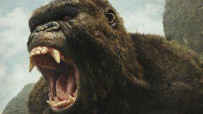 Kong destrona a Logan de primer lugar de taquilla