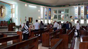 Realizan misa en honor a militares caídos en la Masacre de Albrook