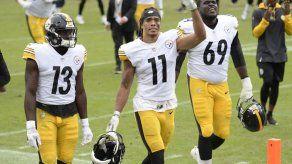 Steelers arriesgan marcha perfecta en visita a Baltimore
