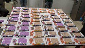 Más de 4 mil pastillas de dulce con droga sintética son decomisadas en Correo de Veraguas