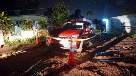 El vehículo del joven asesinado fue ubicado en el sector de Alcalde Díaz, mediante acciones operativas junto a la Policía Nacional y con el apoyo de la ciudadanía.