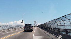 Restablecen acceso al Puente de las Américas tras paso del presidente chino