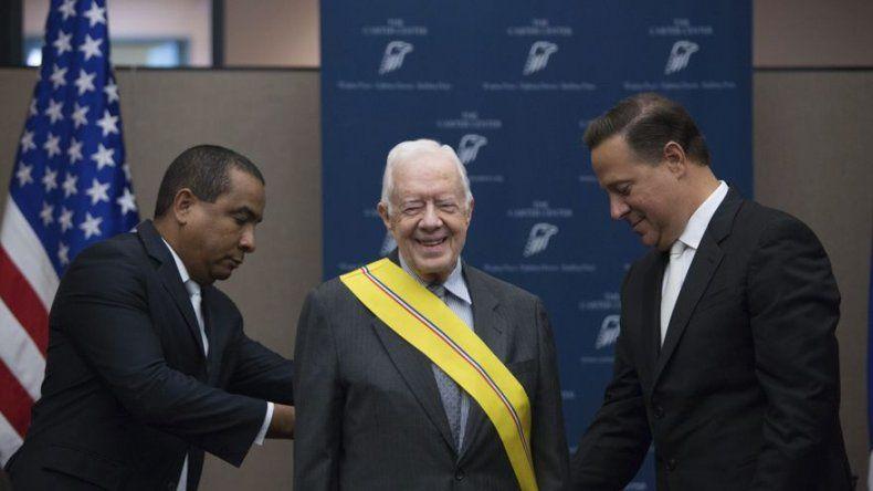 Jimmy Carter cancela participación en festejos por Canal Ampliado