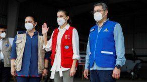 Las ONG describen a la reina Letizia el drama de Honduras tras los huracanes