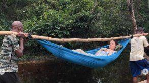 Ashley Judd comparte las imágenes de la misión de rescate que le salvó la vida