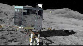 Philae se queda dormido después de ejecutar su misión primaria