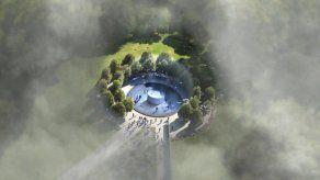 Un holandés diseña la mayor purificadora de aire del mundo para ciudades