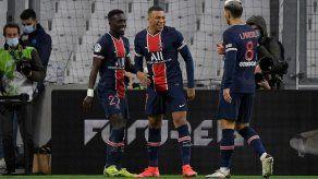El PSG exhibe pegada ante el Marsella para llevarse el Clásico francés