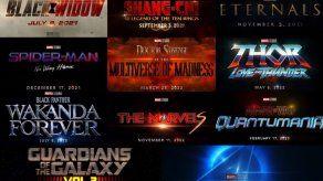 Marvel anuncia las fechas de estrenos de sus próximas producciones.