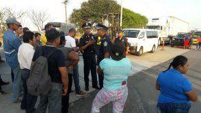 Reabren la carretera Panamericana después de manifestación en Penonomé