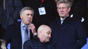 Ancelotti y Arteta presentes en partido de Everton y Arsenal