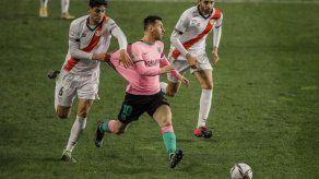 Messi regresa y anota en el triunfo ante el Rayo Vallecano