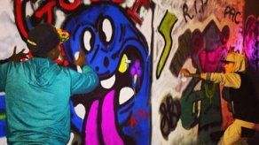 Justin Bieber llena de grafitis un túnel de Bogotá