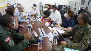 Ministro Pino se reúne con vicecanciller costarricense para tratar temas migratorios
