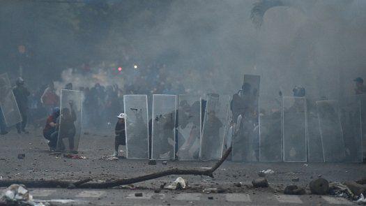 Se trata de seis homicidios registrados en medio de protestas.