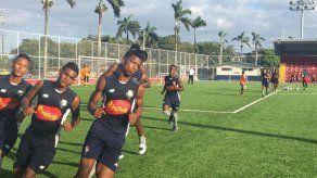 La Selección Sub-17 de Panamá se mantiene activa y afina detalles